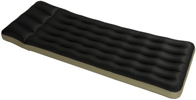 Classic inflatable camping single air bed