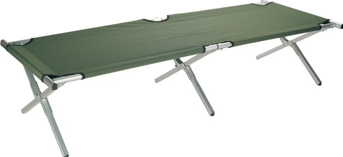 Folding Camp Bed Lightweight Camping Beds Military Army Uk