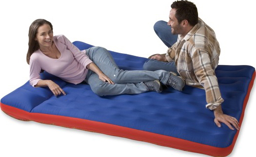 double inflatable air bed 2
