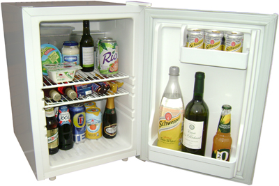 Quiet JL43 bruhne mini tabletop fridge