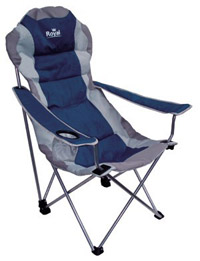 Royal Adjustable Foldaway camping chair