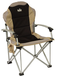 Royal Commander folding Chair in black