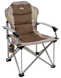 Brown Royal Commander Camping Chair