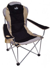 Royal President Folding Camping Chair in brown