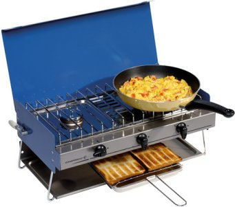 Camping Chef camping Gaz cooker double burner and grill