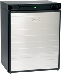 Dometic RF60 black 3 way absorption fridge
