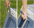 Waeco W35 coolbox pull along handle