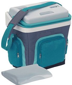 Waeco S25 turquoise with additional normal cool box lid