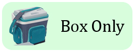 Waeco S25 turquoise cool box only