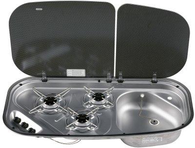 Model  PI913 3 BURNER CARAVAN MOTORHOME COOKER HOB CAMPER CALOR LPG  EBay