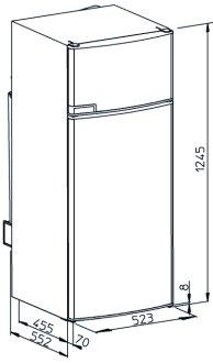 Standard fridge size uk 9