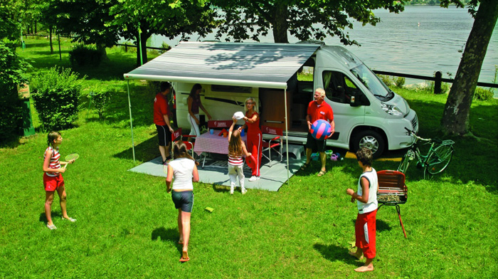 Fiamma F65 Campervan set up