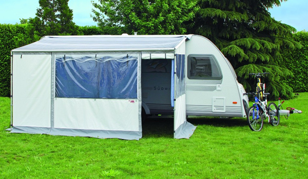 Fiamma Caravanstore Zip in position.
