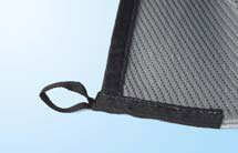 Fiamma patio mat fixing points