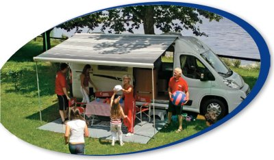 Fiamma F65 S RV Campervan Awnings to keep your family out of the sun