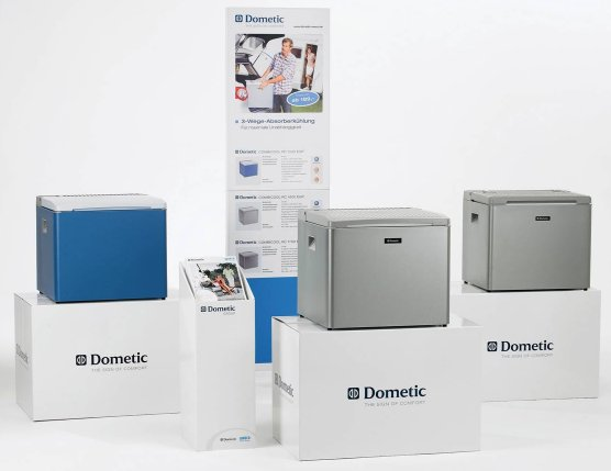 Dometic 3 way camping fridges