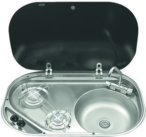 SMEV MO8322R Hob and Sink