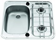SMEV MO927L Hob and left sink