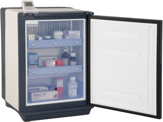 Medical fridge with lock