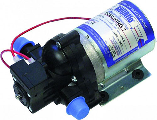 Shurflo caravan and motorhome water pumps