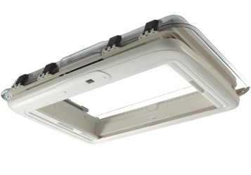 Seitz Midi Heki Rooflight for caravans and motorhomes underside view