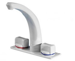 The Elegance caravan motorhome mixer tap by Whale