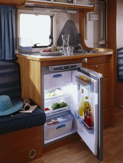 Under the sink Thetford caravan and motorhome fridge