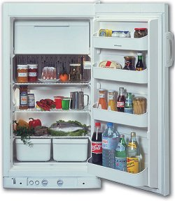 free standing LPG gas fridge