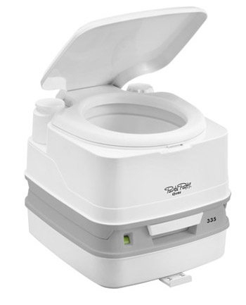Thetford PORTA POTTI 335 Qube a handy little camping chemical toilet
