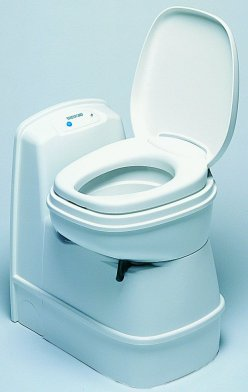 Motorhome toilet