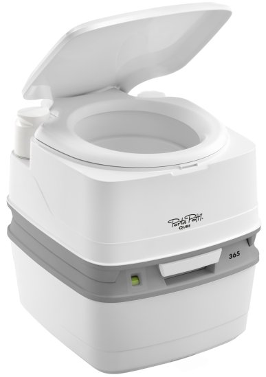 Thetford PORTA POTTI 365 Qube the new kid on the block replacing the best selling 165 porta potti