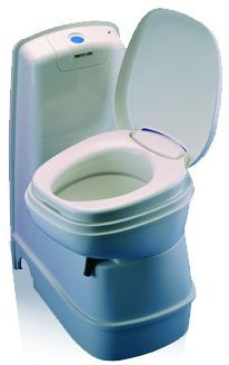 Thetford CASSETTE TOILET C-200 CWE featuring a swivel bowl