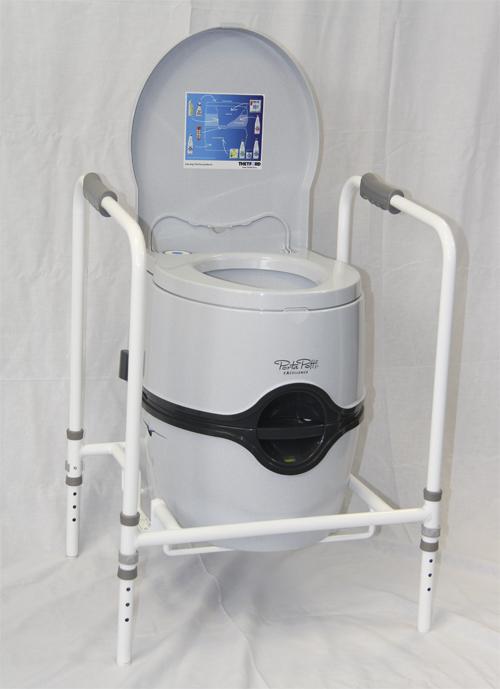 portable toilet frame for disabled elderly electric