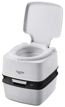 New to the range the Thetford Porta Potti Qube 165 replacing the old 165 chemical toilet, the porta potti 165 was probably the best selling camping toilet of all time.