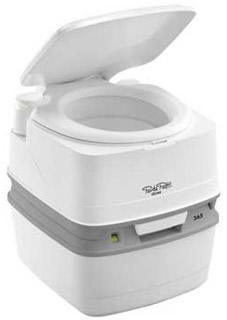 New to the range the Thetford Porta Potti Qube 365 replacing the 365 toilet which was only added in 2010