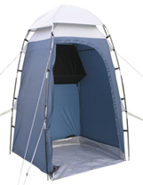 The Royal T53 toilet tent with storage shelf can be used as utility tent