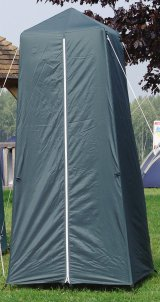 Single standard toilet tent in nylon