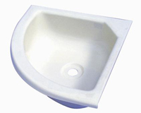 Small Vanity triangle corner basin