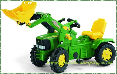 Rolly Toys John Deere Pedal Tractor 6920 With Maxi Loader
