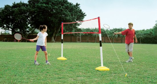 Kids 3 Games In 1 Tennis Volleyball And Badminton