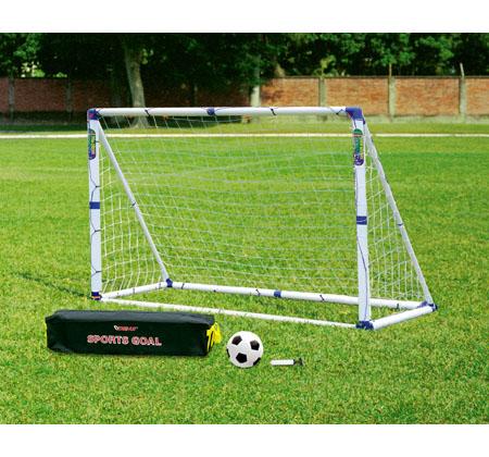 Kids Football Goal Posts 3in1 Target Shot Amp Rebound Net
