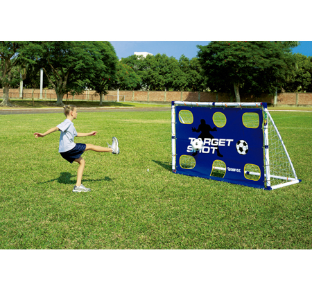 99d6d2a4 Childrens football kids practice goal posts large and small UK