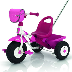 Kettler pink girls kids ride on pedal Top Trike Air Layana