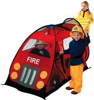 Fire Engine Truck childrens fast erection kids pop up play tent  sc 1 st  Jacksons-C&ing & Kids pop up play tents and childrens beach sun shelters