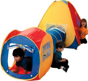 Adventure World play tent and tunnel  sc 1 st  Jacksons-C&ing & Kids pop up play tents and childrens beach sun shelters