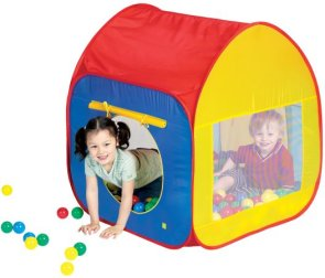 Ball pit pop up easy up tent with 50 plastic balls  sc 1 st  Jacksons-C&ing & Kids pop up play tents and childrens beach sun shelters