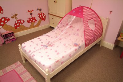 play toy pop up bed tent pink childrens girls ... & Childrens pop up bed Tents little hearts UK