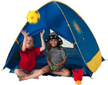 Junior Cabana beach tent pop up beach sun shelter 2170 great for your kids  sc 1 st  Jacksons-C&ing & Pop up beach tents and UV sun shelters