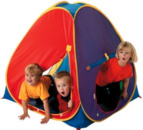 Mega Den small childrens pop up tent  sc 1 st  Jacksons-C&ing & Kids pop up play tents and childrens beach sun shelters
