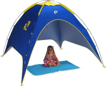 The Ninja UV Beach Dome tent sun shelter is a good sized beach uv sun  sc 1 st  Jacksons-C&ing & Pop up beach tents and UV sun shelters